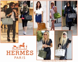 Hermes Berkin Bag Flat
